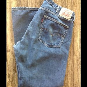 LEVI STRAUSS 559 Relaxed Straight Jeans 40X29 1/2